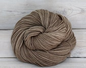 Aspen Sport - Hand Dyed Superwash Merino Wool Sport Yarn - Colorway: Mushroom