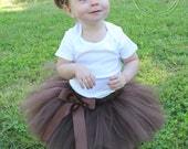 Bear Costume, Teddy Bear Birthday, Bear Birthday, Bear Party, Custom Made Hand-Tied Ribbon Tutu Skirt with Ears Headband