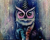 The Meowl - Large Fine Art Print