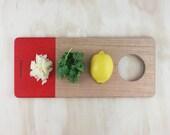 Kitchen Board (Red)
