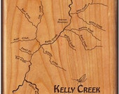 KELLY CREEK River Map - F...