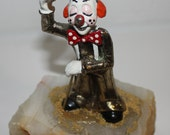 Vintage clown statue by Ron Lee 1979