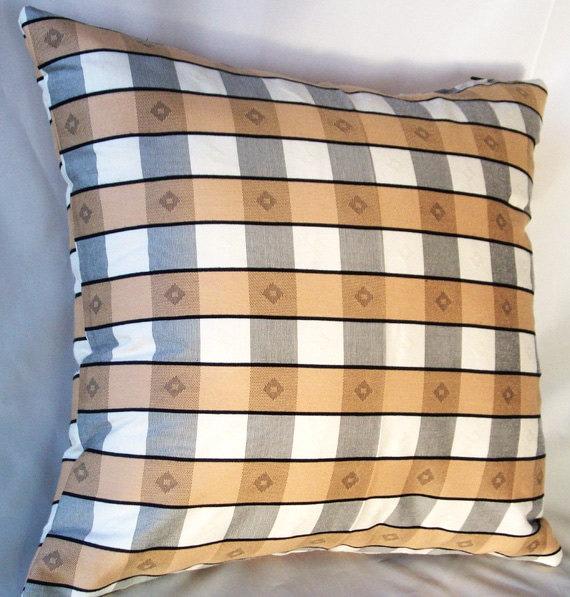 Plaid Decorative Throw Pillows : Plaid pillow cover Plaid Throw Pillows Tartan decorative