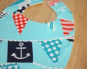 Anchors & Flags : Plastic Lined Bib