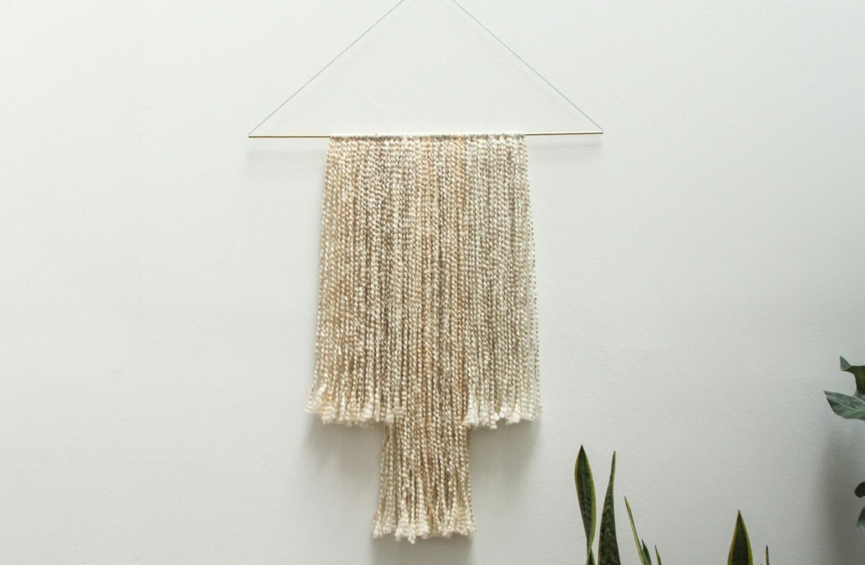 Southwest Wool Fiber Wall Art Wall Hanging By Sonadorainlove