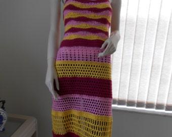 Arch Bustier Apron Halter Dress