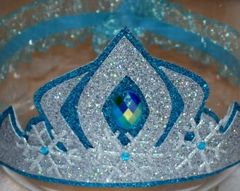 frozen elsa inspired crown easter gift elsa birthdaygift elsa crown