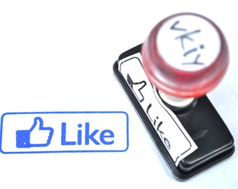 Facebook Like Self-Inking Rubber Stamp