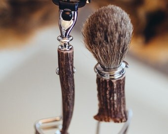 Antler Shaving Gift Set