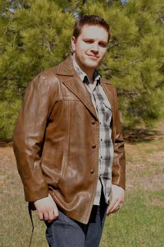 Jacket / Coat / Mens Leather Jacket / Reed by HomeWorksMontana