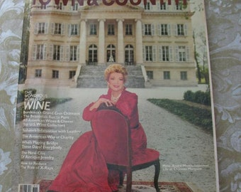 Vintage Magazine November 1981 Town and Country Luxury Fashion