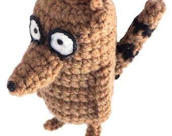Li'l Rigby Plush Crochet Amigurumi Pattern - DIGITAL DOWNLOAD