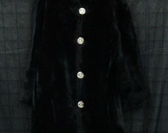 Women's Vintage Fur Coat by Beckman's