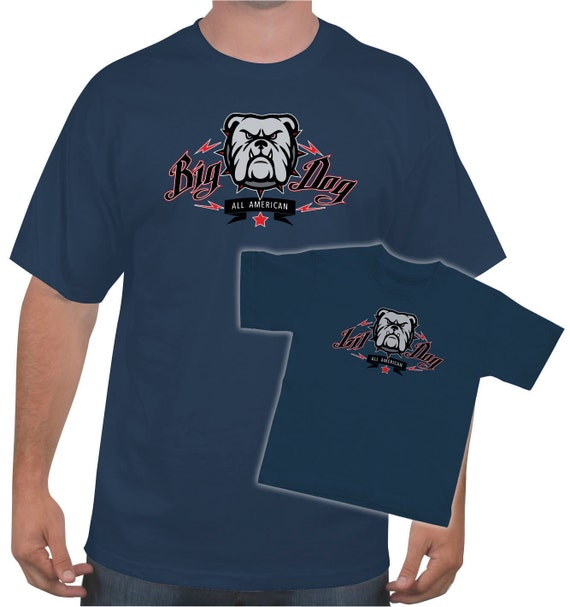4273d9a75 ... Dad Dog Shirt: Matching Big Dog / Lil Dog Father/Son T-shirt