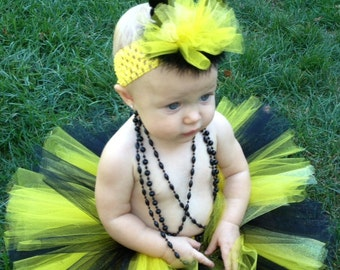 Bumblebee Tutu Costume with Stinger, Infant Bumblebee Costume, Toddler Bumblebee Costume, Bumble Bee Costume