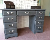 Reserved Listing for Dianna P. - Desk in ASCP Graphite