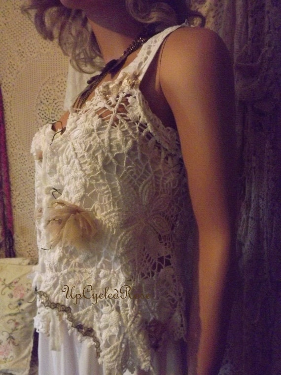 Little Miz Attitude Shabby Couture Wearable Art Cowgirl Glam Barn Wedding Chic Must Read Her Story