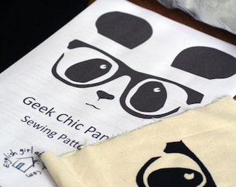 Make it Yourself - Geek Chic Panda Plush Toy Sewing Kit