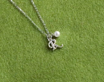 Personalised Initial Stainless Steel Necklace N120