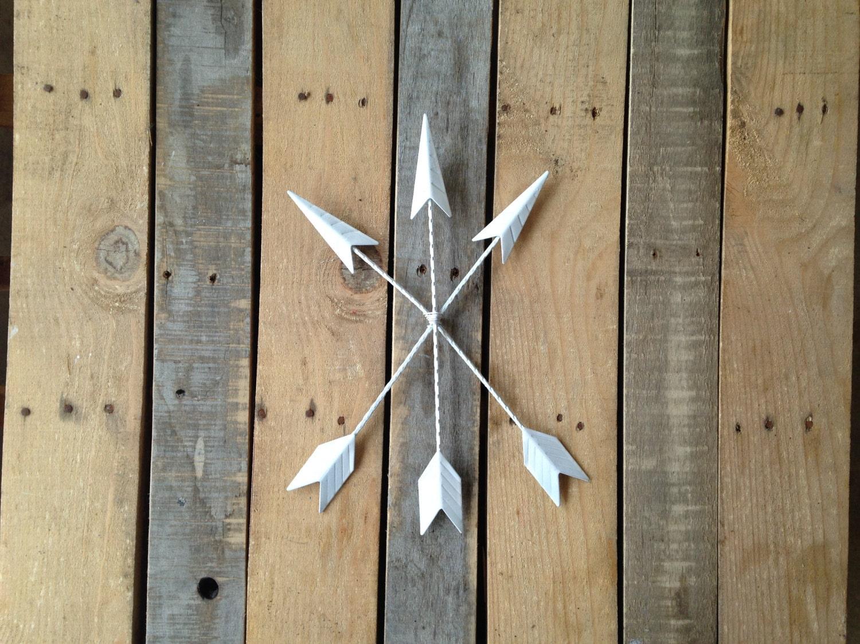 Arrows For Wall Decor : Arrow wall decor hanging tribal home metal