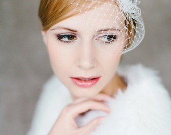 "Wedding handmade Bridal Birdcage with crystal stones - ""Sophie"""