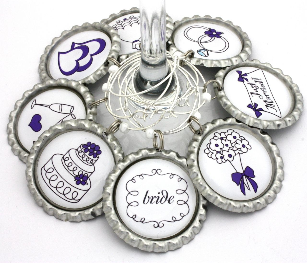 wine charms bridal shower favors - 28 images - bridal shower favors ...