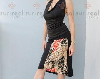 Milonguera Style Tango skirt