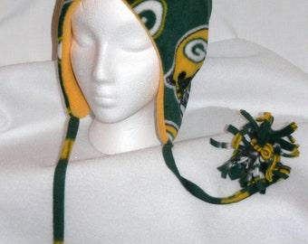 Green Bay Packers Polar Fleece Bomber Hat