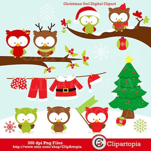 christmas clipart etsy - photo #21