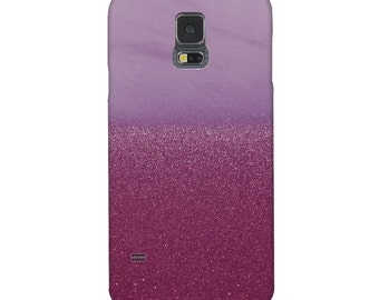 Smartphone Case - for iPhone iPod  Samsung Blackberry HTC  Photography art sand lilac purple glitter