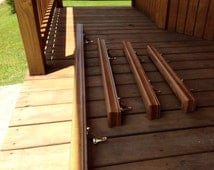 Reclaimed Handmade Oak Handrails mountable 3 inch Hand rail