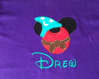 Disney Sorcerer Mickey - Personalized - Youth