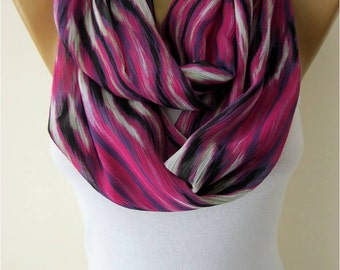 SALE ! 9,90 USD-Infinity Scarf Shawl Circle Scarf Loop Scarf ,Gift scarf -MebaDesign