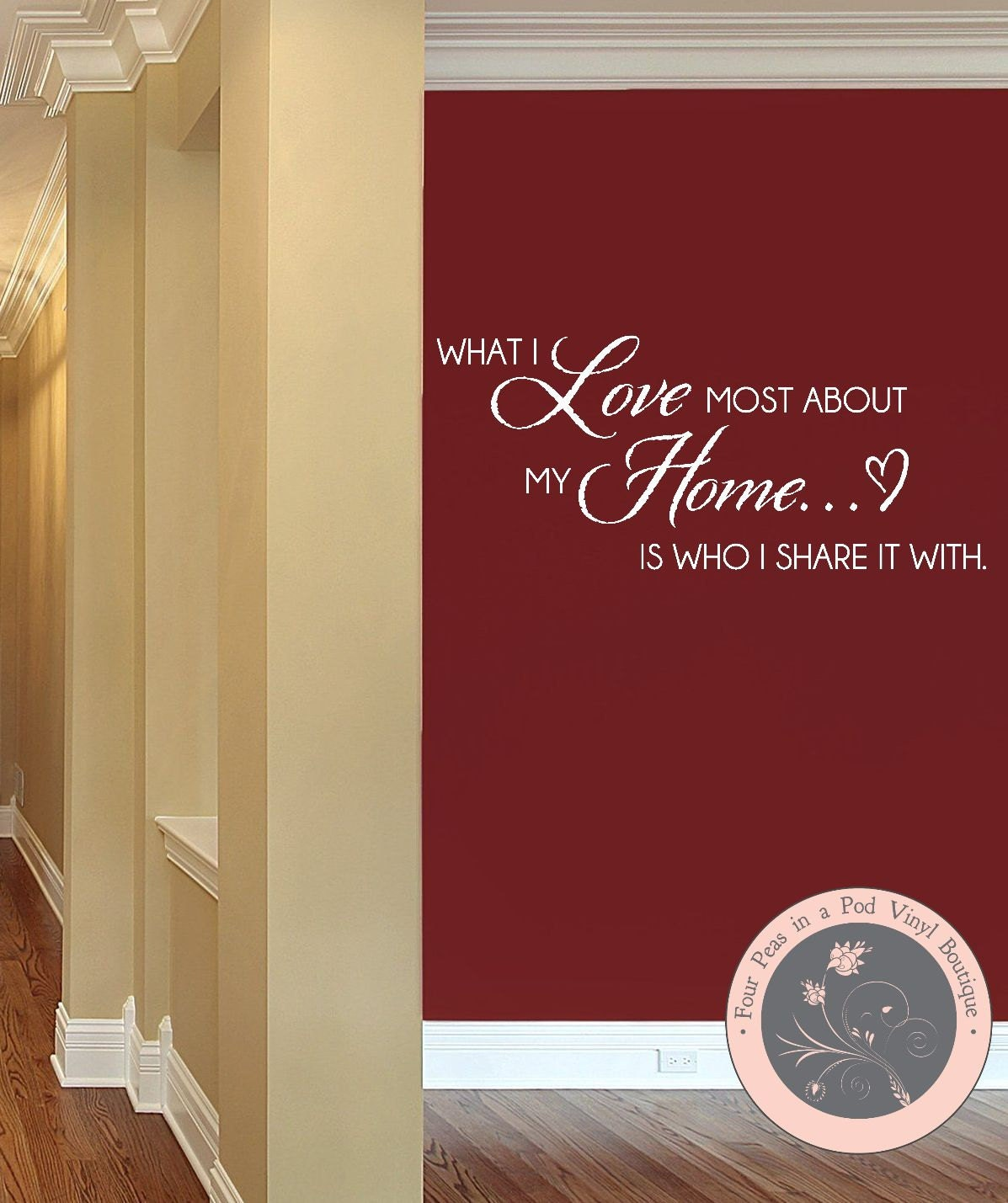 CLEARANCE SALE Family Wall Decals Home Quote Wall Decal