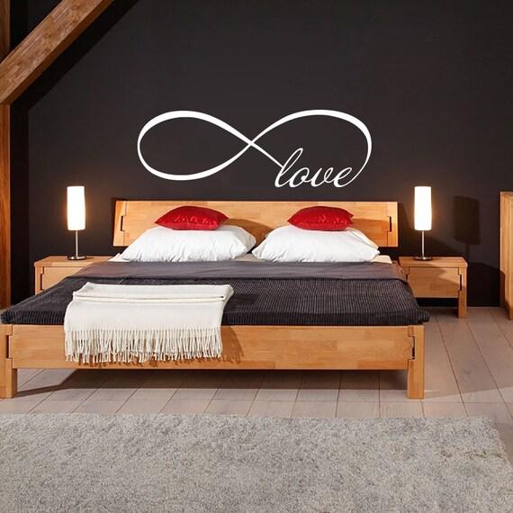 Love infinity symbol wall decal bedroom vinyl decals by bestdecals