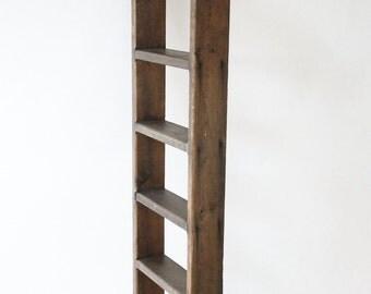 Vintage Wood Ladder Small Ladder Rustic Ladder