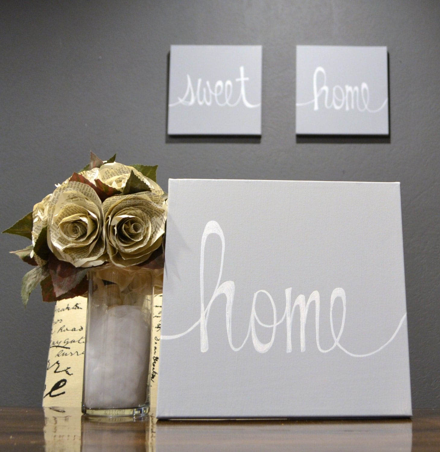 Home Sweet Home Canvas Wall Art Paintings