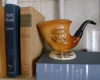 Nautical pipe ceramic planter