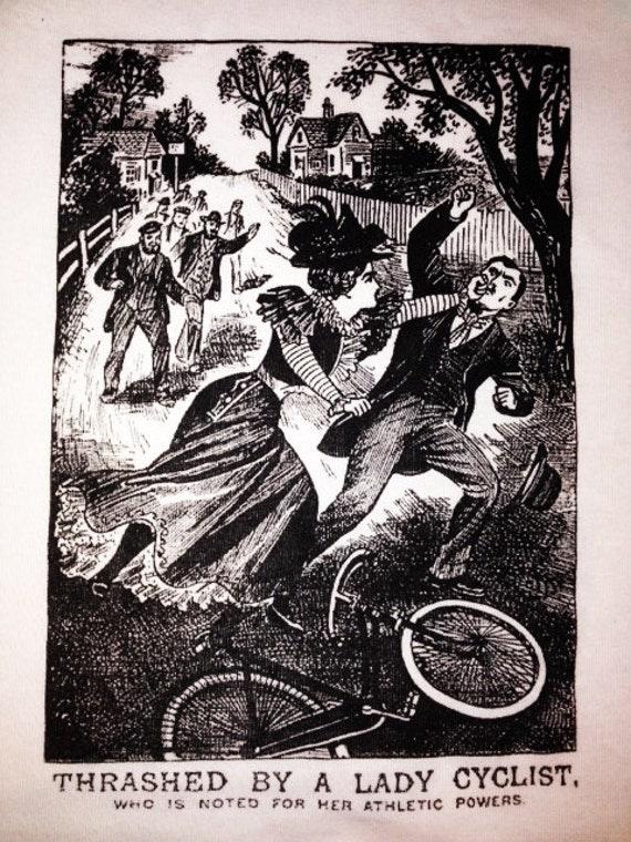 Thrashed by a Lady Cyclist Shirt