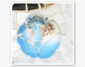 Gaudi Barcelona Gallery Art Mosaic Tile  Fine Art Photography,Wall Decor