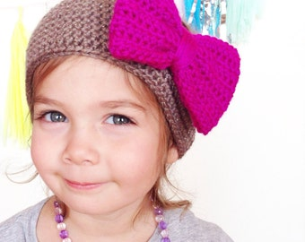 Crochet Mini Bow Earwarmers