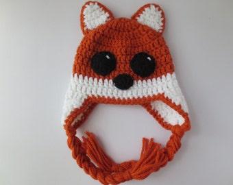 Crochet Fox Hat, Baby Fox Hat, Adult Fox Hat, Fox Hat Crochet, Fox Crochet Hat, Toddler Fox Hat, Newborn Fox Hat, Teen Fox Hat, Orange Fox