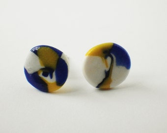Nautical abstract earring