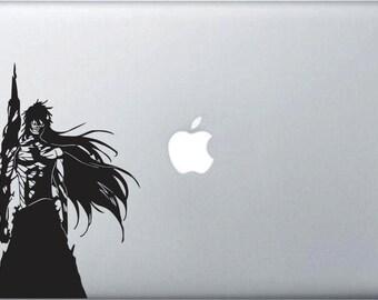 Bleach Ichigo Kurosaki Inspired Vinyl Laptop Sticker