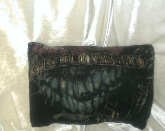 disturbed pillow