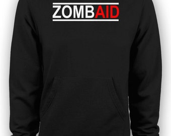 Shaun of the Dead Zombie Movie - ZombAid Hoodie