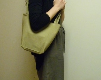 Canvas tote bag / lunch bag