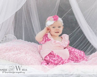 Aurora Inspired Play Dress sizes 0-3 months-2T