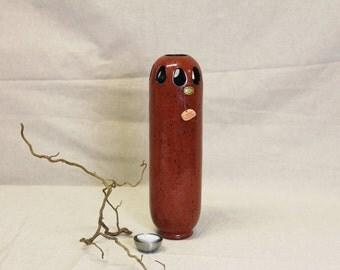 Designer vase , handmade vase from clay