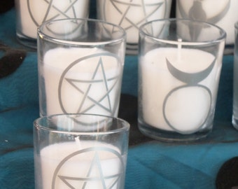 Mini Decorate Votive Candles